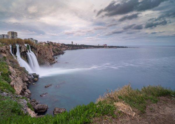Анталья. Водопад Нижний Дюден