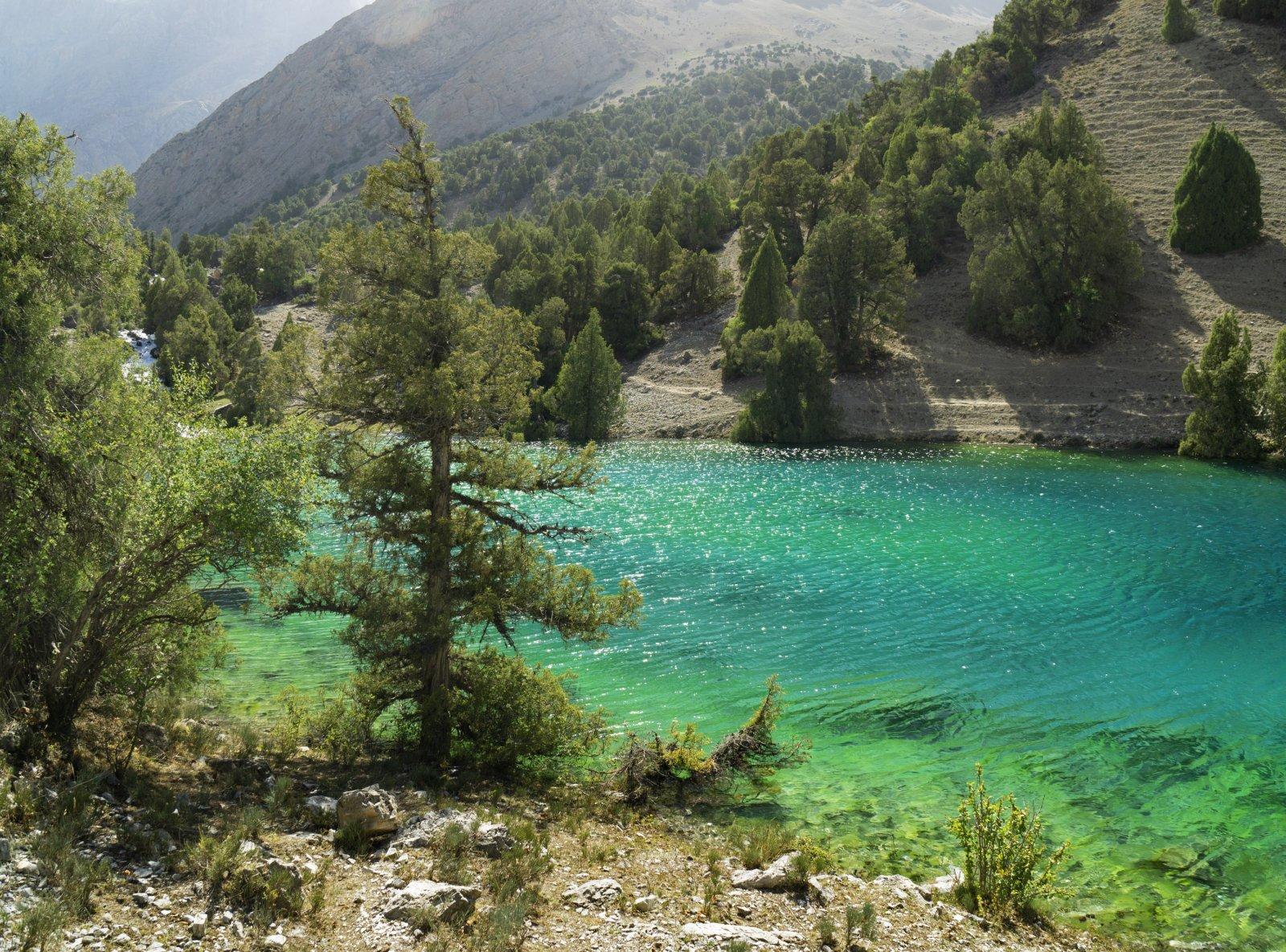 Одно из Алаудинских озер