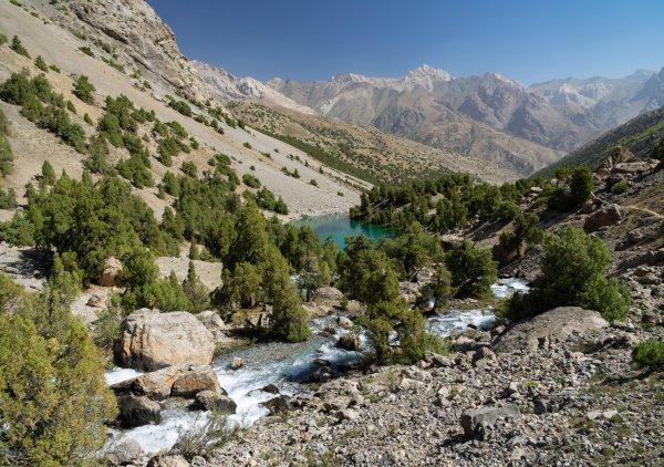 Таджикский ландшафт
