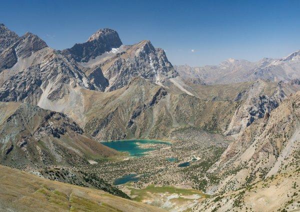 Куликалонские озера с высоты