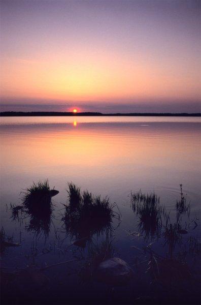 Рассвет на московском море
