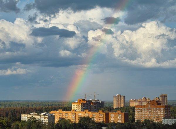 Небеса над Пушкино