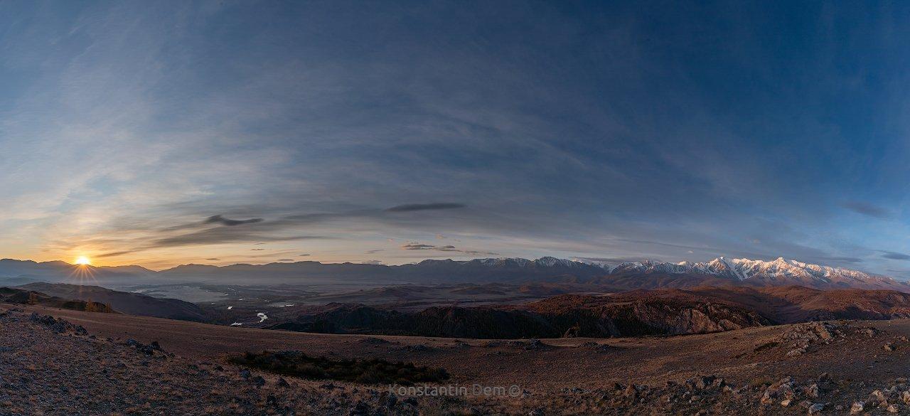 Северо-Чуйский хребет. Алтай