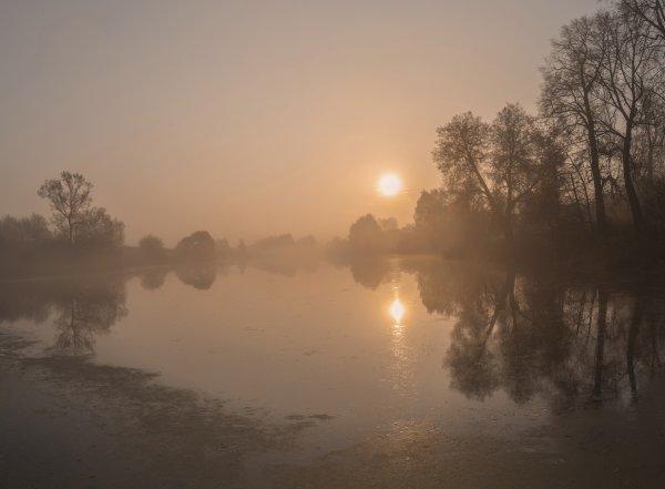 Туманное Софринское утро
