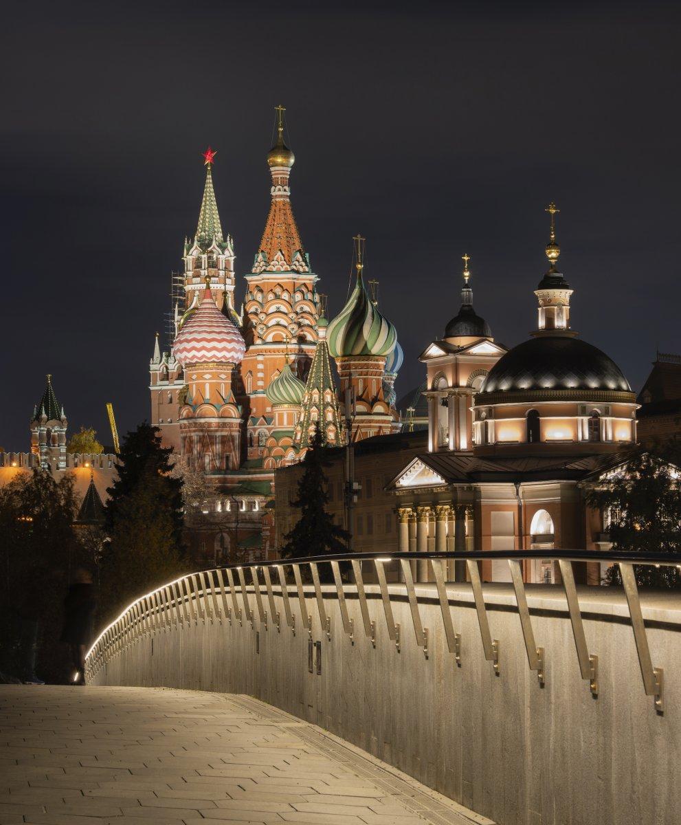 Линии Кремля