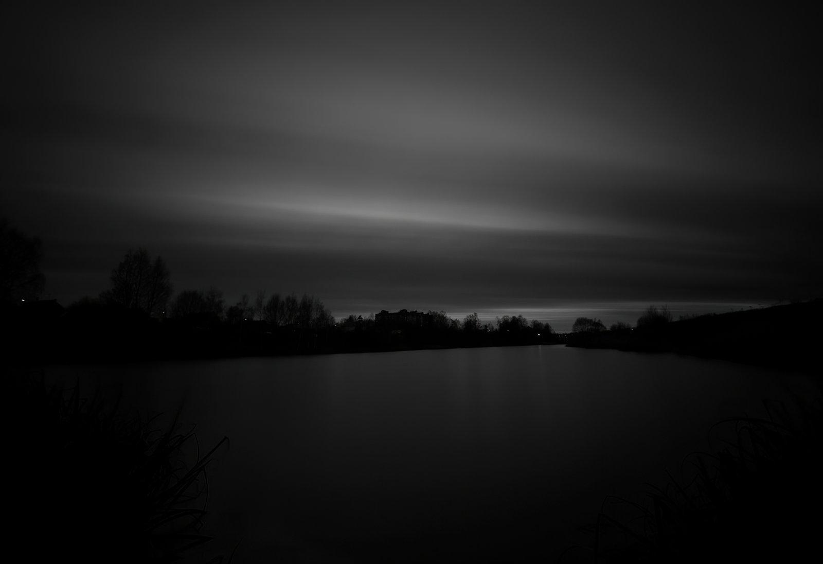 Пейзаж в темном ключе