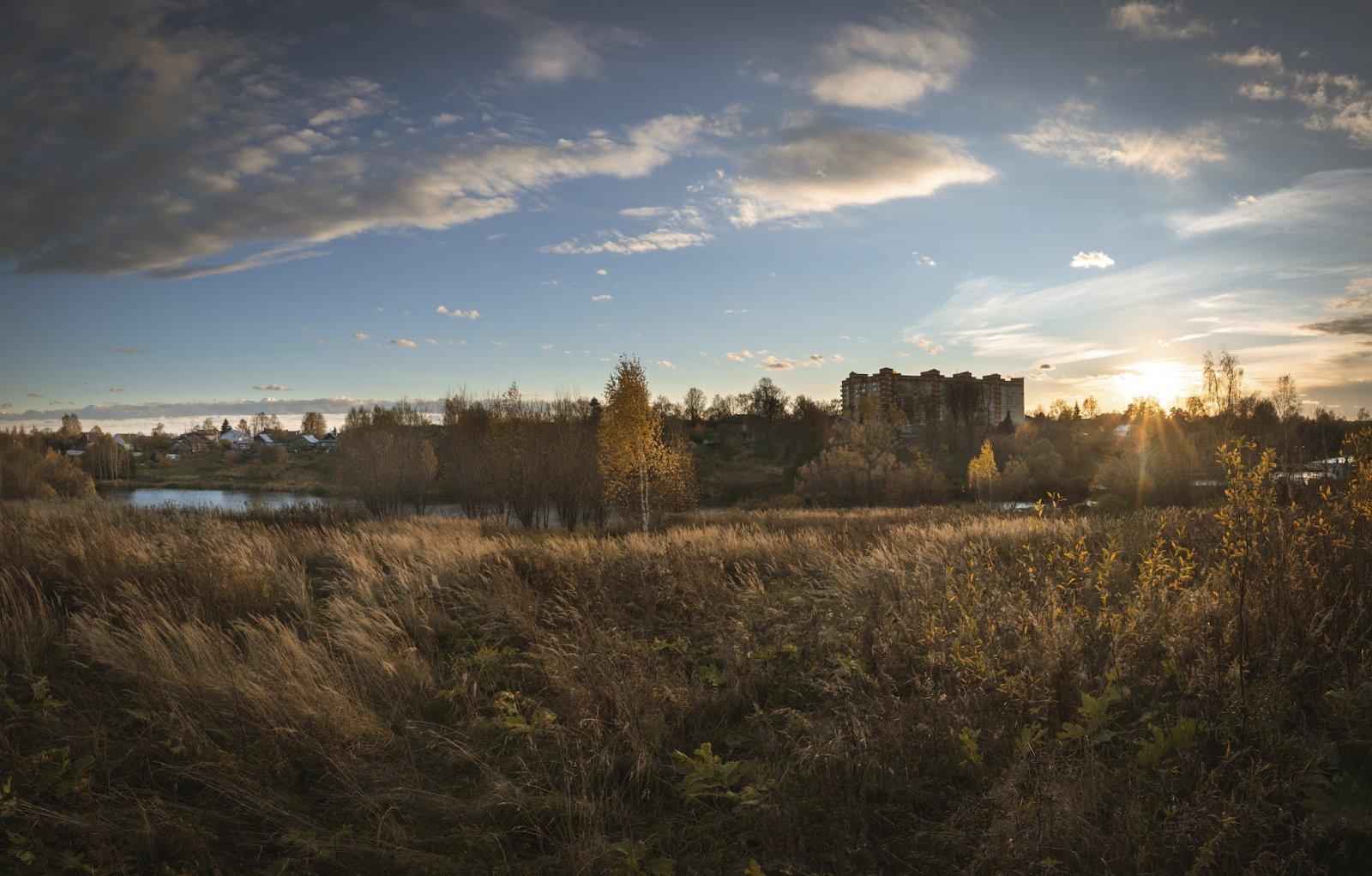 Осень в Софрино