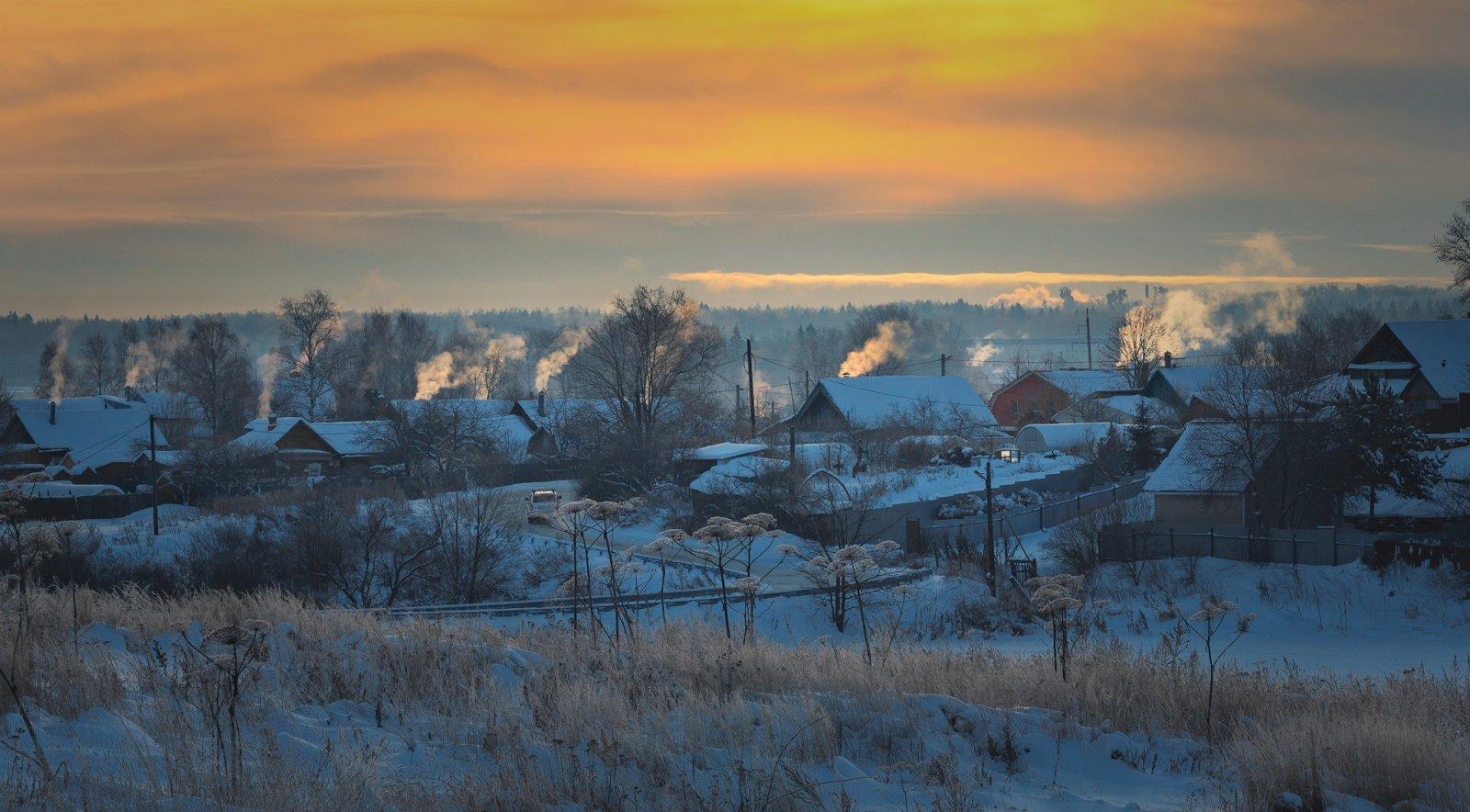 Морозное Софринское  утро