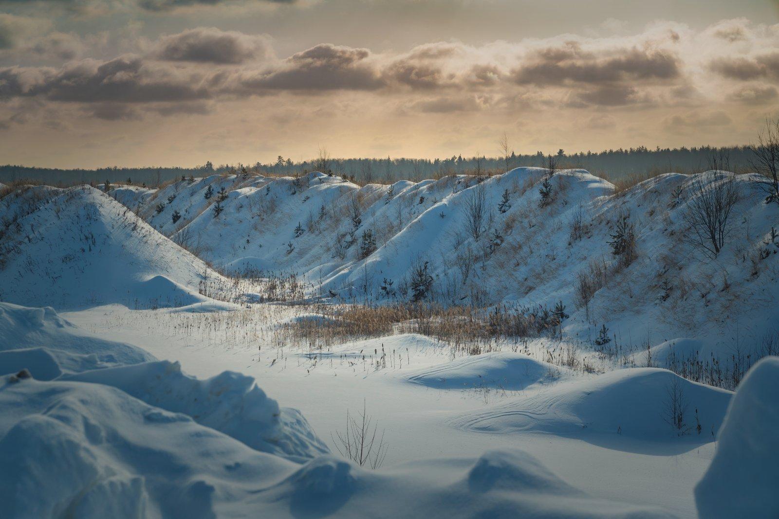 Зима под Воскресенском