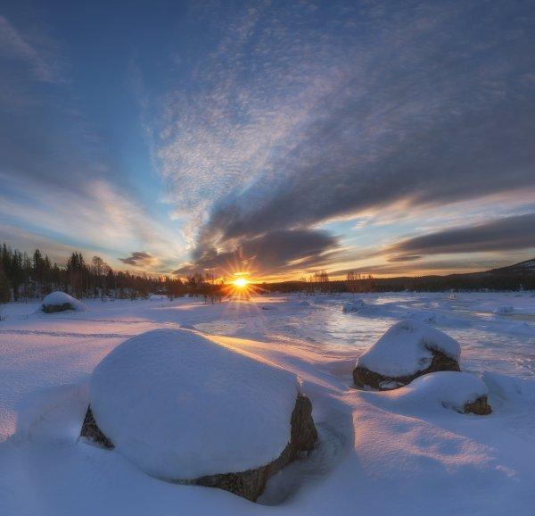 Рассвет северный