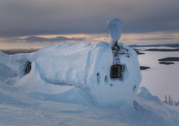 Где то здесь обитает снежный человек