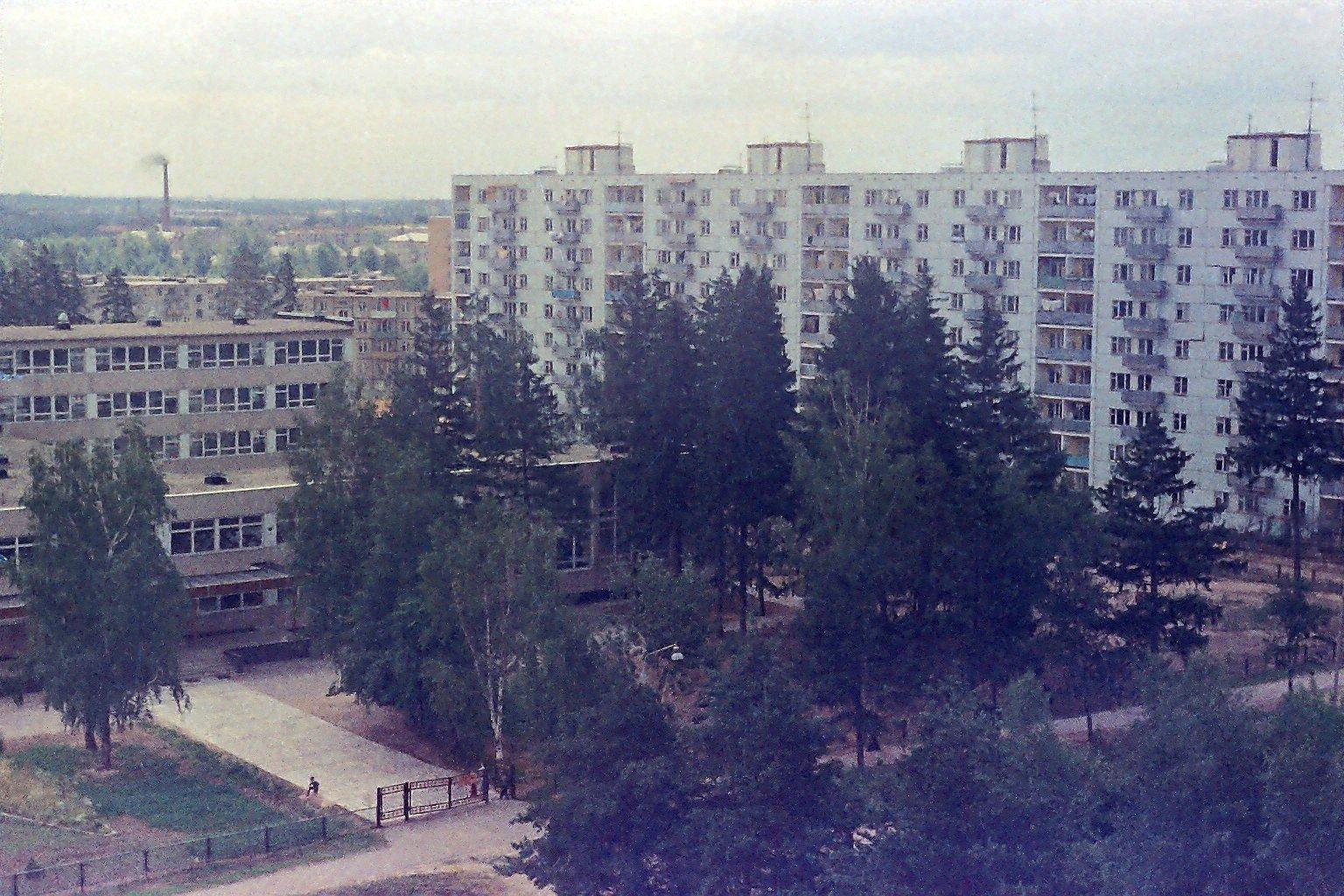 Дзержинец. 9 школа. 1975